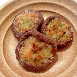 ジュワッと美味!椎茸のマスタードマヨ焼き