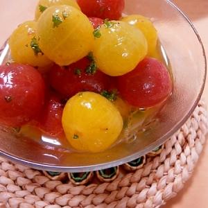 可愛い☆ミニトマトのサラダ☆さっぱりレモン風味♪
