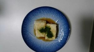 簡単揚げだし豆腐