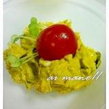 ゆで卵いりカボチャのサラダ