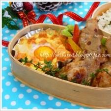 簡単美味しい ポテトと明太子のカップエッググラタン