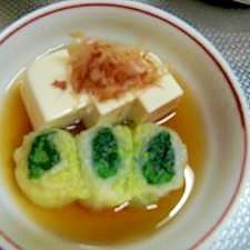 湯豆腐風☆レンジで簡単♪