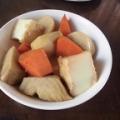 ほっこり♡里芋と人参と厚揚げの煮物