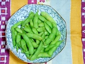 枝豆を美味しく茹でる。冷凍する?今食べる?