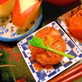 さっぱり柚子だれの鶏ごぼうつくね