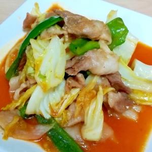 ピリ辛☆豚肉とピーマン&キャベツのコチュジャン炒め