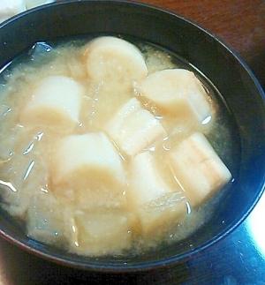 大根と麩の味噌汁