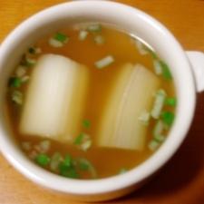 下仁田ねぎのコンソメスープ