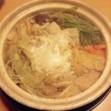冷え性さんに!生姜たっぷり関西風鍋焼きうどん!