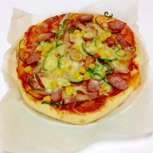 HB使用☆おうちでふっくらピザ
