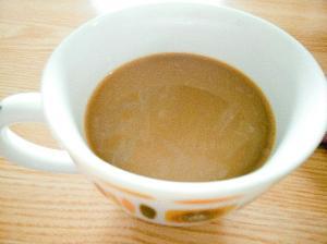 ドリップコーヒーで作る!ジンジャーきな粉カフェオレ
