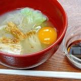 そば湯の旨み☆ 出雲特産「釜揚げ蕎麦」