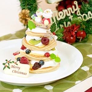 【ママパン】クリスマスパンケーキ
