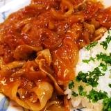 簡単、早い、豚薄切り肉でハヤシライス