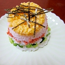 カップ鮭寿司