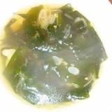 簡単おいしい焼肉屋さんのわかめスープ