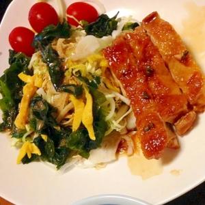 鶏肉の(山椒)醤油煮