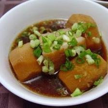 豚バラと里芋の柚胡椒煮(圧力鍋)