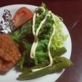 フリルレタスと、3色ミニトマトの可愛いサラダ♪