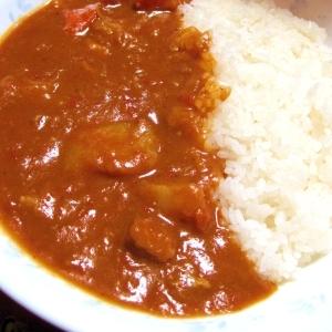 水不使用♪トマトミルクカレー【酸味+クリーミー】