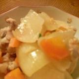 手羽元とお野菜のヘルシーお酢煮