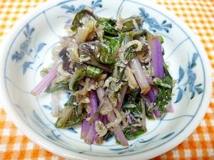 赤水菜のお浸し