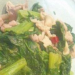 おふくろの味、高菜と豚肉煮