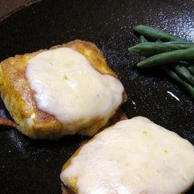 カレー風味♪チーズ豆腐ステーキ