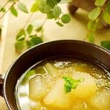 冬瓜のトロトロすりおろしスープ♪