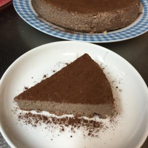 【糖質制限】ココアチーズケーキ