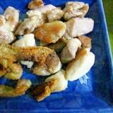塩とほんだしであっという間の和風鶏もも焼き