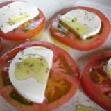 トマトとモッツァレラチーズのサラダ☆カプレーゼ