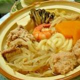 ★体が温まる 生姜の鶏団子と野菜たっぷり鍋★