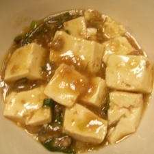 辛くないマーボー豆腐