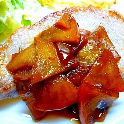 デザート以外にも使える!「りんごソテー」を合わせた絶品料理5選