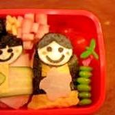 園児のお弁当 ☆ちらし寿司でひな祭り弁当☆