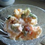 「冷凍きゅうり」でポテトサラダを作ってみた♪