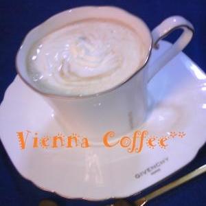 喫茶店のお味♡ウインナーコーヒー♡