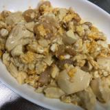 エビと豆腐と卵チャンプルー
