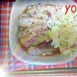 簡単☆レンジで紅茶煮豚 麺つゆとお酢でさっぱり煮