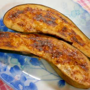 茄子のキヌア・しょうゆマヨ焼き