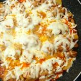鶏肉とジャガイモだけでチーズタッカルビ!