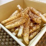 長イモ炒め焼き★めんつゆだけで簡単美味しい!