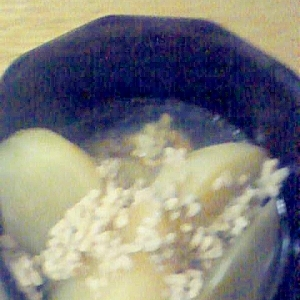 豚ひき肉とかぶの煮物