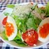 サラダ菜のグリーンサラダ