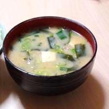 コクうま♪うちのお味噌汁