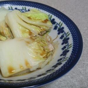 1人分だけ☆豚肉と白菜の重ね煮