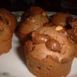 板チョコで作るカップケーキ
