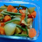 たっぷり野菜の行楽煮物