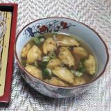 アサリの旨味たっぷりつゆでざる蕎麦☆